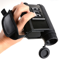 Multifunctional Digital Monocular Infrared Rangefinder Day Night Vision Goggles Night Vision Scope For Hunting