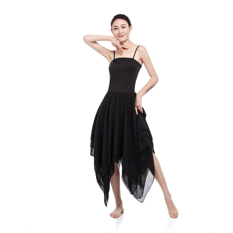 New Elegant Lyrical Modern Dance Costumes For Women Ballet Dress