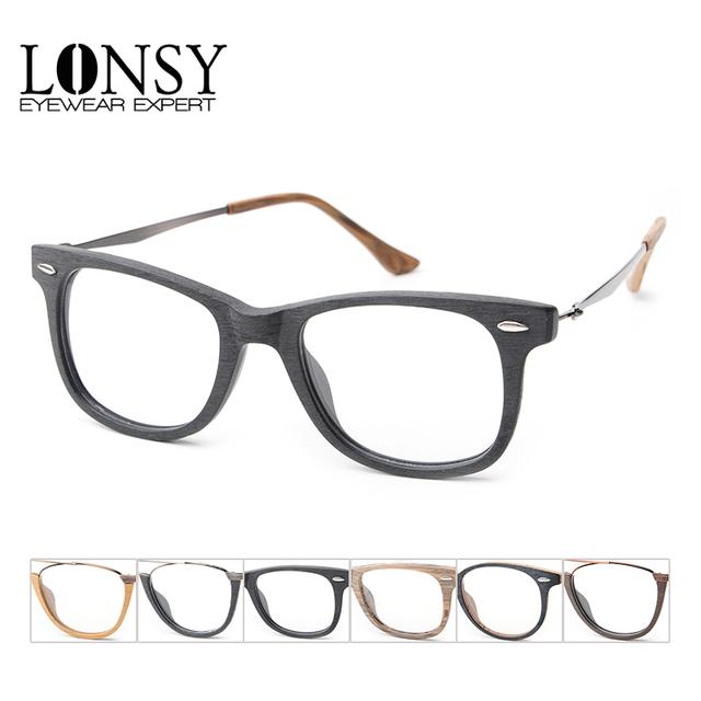 Retro Óculos de Armação de Acetato Para As Mulheres Quadrados Óculos de Armação Marca de Design Homens de Óculos Óptica Óculos De Grau RRC2140