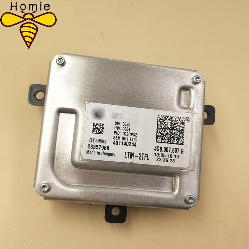 Free shipping Best Quality Daytime driving module Xenon headlights Follower controller 4G0 907 697 G 4G0907697G