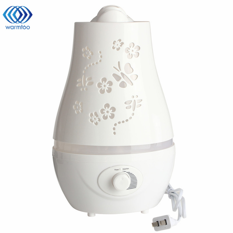 110V-240V 2 Styles 1.5L/2.4L Ultrasonic Home Aroma Humidifier Air Diffuser Purifier Lonizer Atomizer with LED Light for Bedroom catalog signature home styles