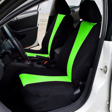 New Arrival 2 Front Seat Covers Car protector Auto Backseat Universal  fit for Ventilation and dust 2017