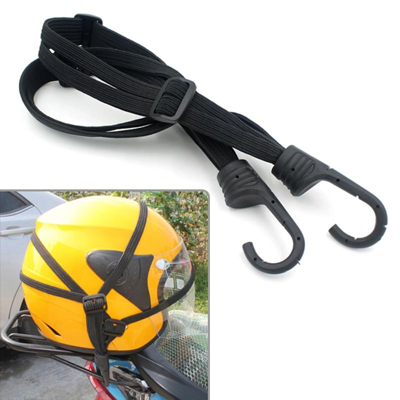 Черный мото Чемодан шлем чистая веревка кабельной пояс Банджи шнур Эластичный ремешок с мотоциклетные авоську Motocicleta аксессуары