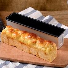 Прямоугольная форма для тостов, коробка для выпечки, формы для сэндвичей, маленькие антипригарные сильфоны, покрытие, инструменты для выпечки, французская хлебная печь