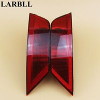 LARBLL 2PCS Left Right Reflector Housing Rear Bumper Tail Lights Fog Lamps For Ford Escape 2013