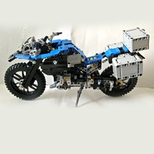 Lepin 20032 603Pcs Technic Series  The BAMW Off-road Motorcycles R1200 GS Building Blocks Bricks Toys For Children Gift 42063