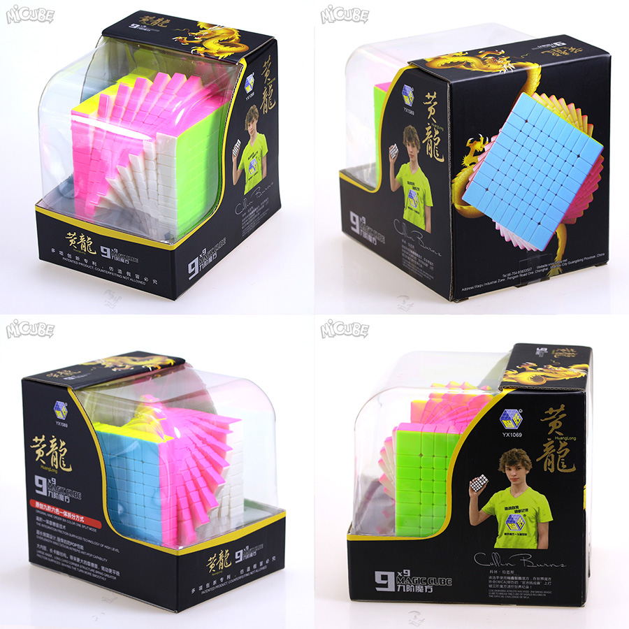 Zhisheng Yuxin Huanglong 9x9x9 Magico Cubo 9x9 Cube Magic Puzzle Professionelle Cube 9*9 Stickerless Schwarz Spielzeug Für Kinder-in Zauberwürfel aus Spielzeug und Hobbys bei  Gruppe 1