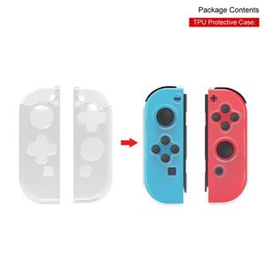 Image 3 - For Nintendo Switch Console Game Pack Kit With Charging Dock Folding Stand TPU Case Charge Cable TNS 18115