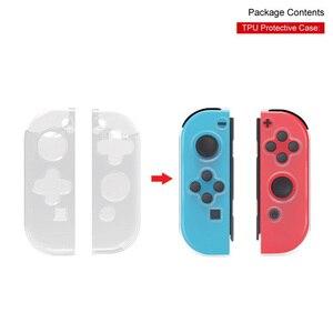 Image 3 - עבור Nintendo מתג קונסולת משחק חבילת ערכת עם טעינת Dock מתקפל Stand TPU מקרה תשלום כבל TNS 18115