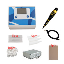 Complete Tattoo Kit  Permanent Makeup Machine Kit Swiss Hand Piece Pen Professional Intelligent Digital Device durable Hot sale