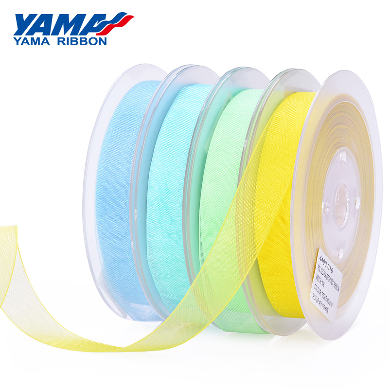 YAMA 9 13 16 19 mm for Packing Wedding Decoration 200yards Ribbons Green Yellow Brown Solid Color Sheer Organza Silk Ribbon-in Ribbons from Home & Garden on Aliexpress.com | Alibaba Group