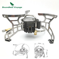 Boundless Voyage Cooking Gas Stove Outdoor Camping Food Cooker Portable Lightweight Big Power Camp Stove BV1007