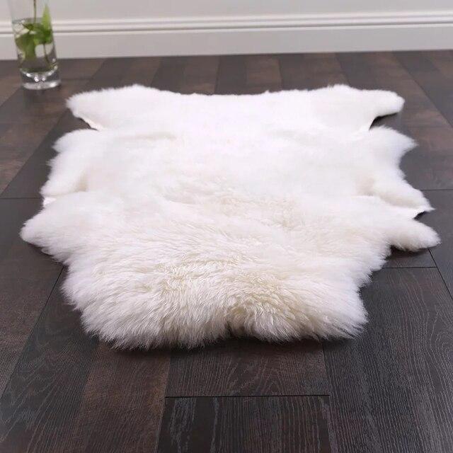 Aliexpress.com: Acheter Uncut en forme 90*120 CM en peau de mouton ...