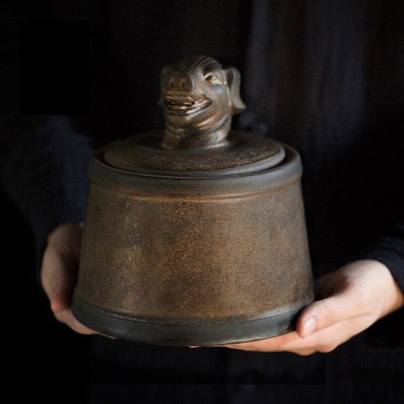 Прах питомца кремации держатель урны собака в память о кошке шкатулка животное на память о похоронах Hond 500 г большой емкости свинья лошадь OXCaskets