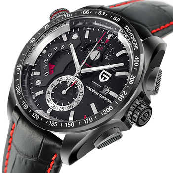 PAGANI DESIGN Mens Watches Sport Quartz Watch Men Dive Waterproof Male Clock Chronograph Military Wristwatch relogio masculino - DISCOUNT ITEM  50% OFF All Category