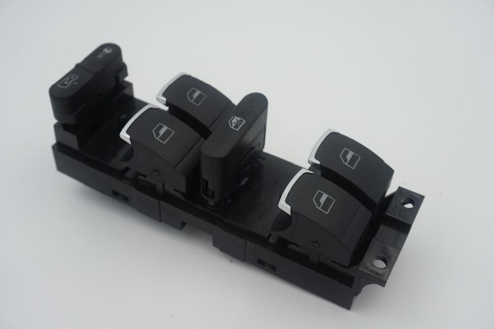 Hight Quality Master Window Control Switch Button For VW 99-04 GTI Golf 4 Jetta MK4 BORA BEETLE Passat B5 B5.5 OE:3BD 959 857
