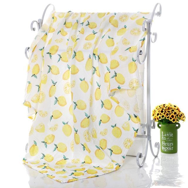 1Pc Muslin 100% Cotton Baby Swaddles Soft Newborn Blankets Bath Gauze Infant Wrap Sleepsack Stroller Cover Play Mat 3
