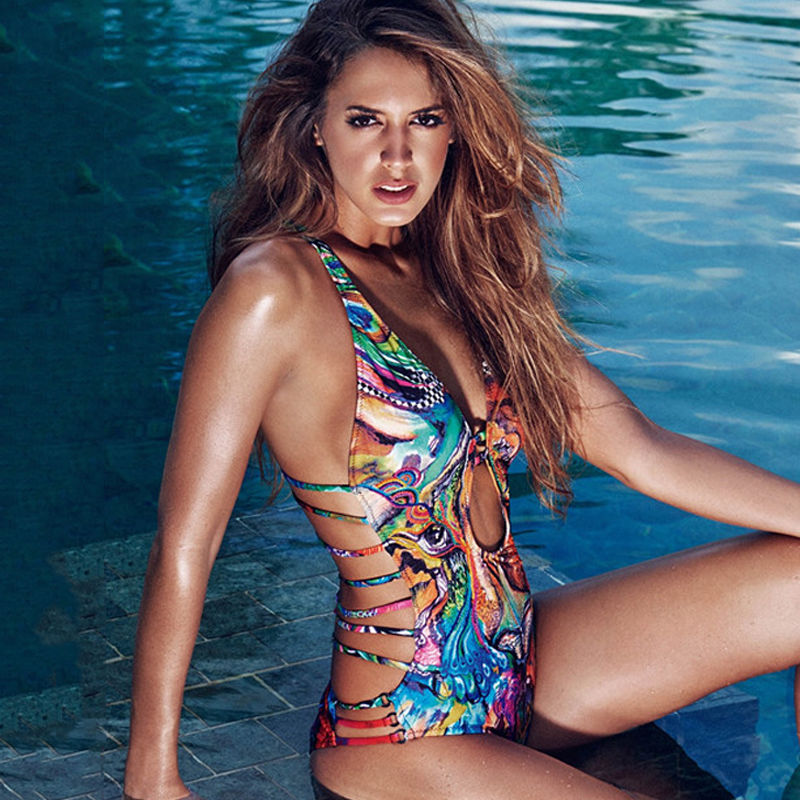 fd579cae2c7625 Donne di un pezzo del costume da bagno di lusso regina di stile beach sea  costume