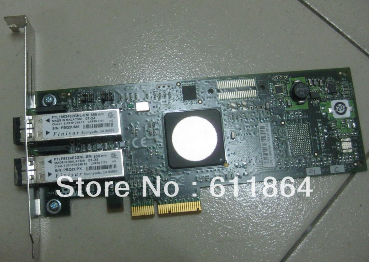 ФОТО The Original EMULEX LPE11002 4GB Fibre Channel Cards