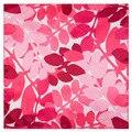 60*60 см 2016 Новый женский шарф Лист И Цветок Печатных маленькие платки Саржевого Шелка пашмины шелковый шарф шейный платок Хидёаб шелка