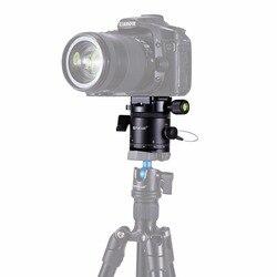 PULUZ ze stopu aluminium ze stopu aluminium panoramiczny 360 stopni indeksowania Rotator głowica kulowa z Quick Release Plate dla DSLR statyw kamery głowy