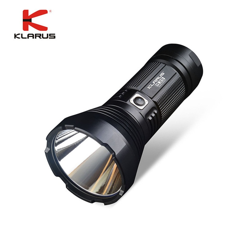 KLARUS G35 LED Flashlight CREE XHP35 HI D4 2000 Lumens Tactical Flashlight Lantern by 3*16850 Battery for Camping new klarus xt11gt cree xhp35 hi d4 led 2000 lm 4 mode tactical led flashlight free usb port and 18650 battey for self defence