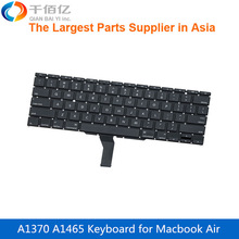 Brand New A1370 A1465 US Keyboard for Macbook Air 11′ Replacement Keyboard 2011-2015 without backlight