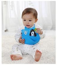 new design Baby bibs waterproof silicone feeding baby saliva towel wholesale newborn cartoon waterproof aprons Baby Bibs