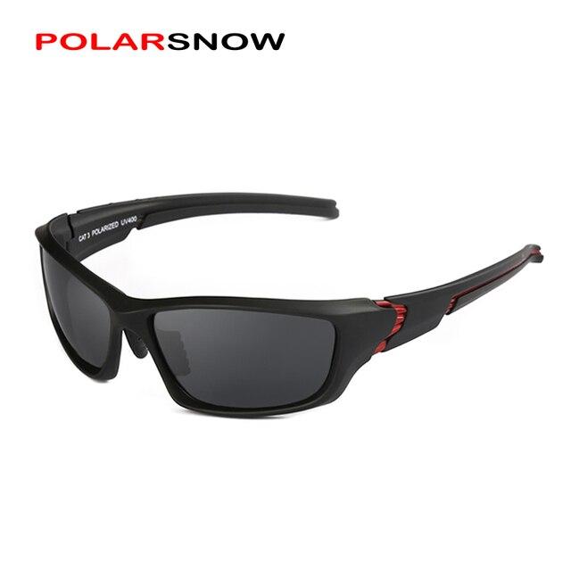 Lunettes Noir lunettes de soleil polarisées unisexe Drive Prevent Glare qTLrN