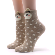 Cute Cotton Socks with Animals (8 types)