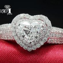 Ювелирные изделия yayi Мода Принцесса огранка огромный 4,5 карат белый циркон серебряный цвет обручальные кольца Свадебные Кольца вечерние кольца