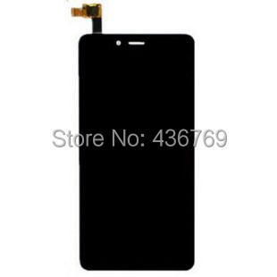5pcs LCD Display Touch Screen Digitizer Assembly For Xiaomi Hongmi Note2 Redmi Note 2 Panel front outer Glass Lens black