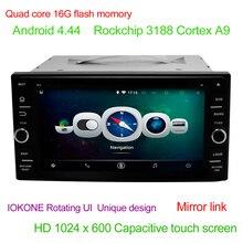Multimedia for Toyota Corolla VIOS Camry RAV4 Prado 6.95″ HD Android 4.4 Quad core 16G Car DVD Video Player Mirror link