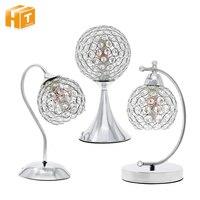 Modern Crystal Table Lamp Beside night light Bedroom Decoration Desk Lamp lamparas de mesa para el dormitorio abajur para quarto