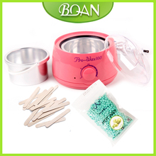 Hair Remover Salon Spa Hand Epilator Feet Paraffin  Heater Wax Warmer  +20*Disposable Bamboo Sticks+100g Hot Film Hard Wax Pelle