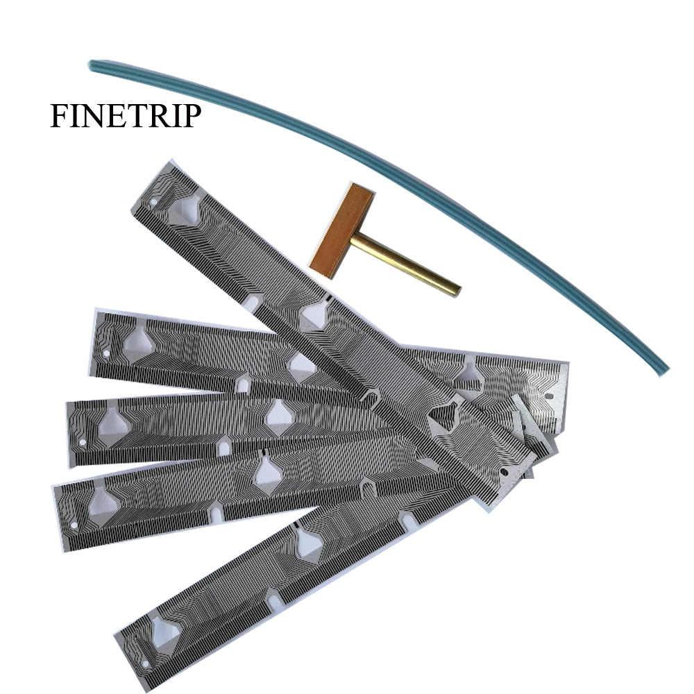 Finetray 25% 5x tablero LCD grupo de píxeles muertos reparación cinta Cable para BMW E39 velocímetro E38 E53 X5/1 t-tip tira de goma