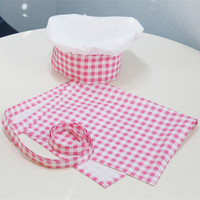 Kids Chef Uniform children Cosplay Coustome Kitchen Jacket Apron Hat chef clothing Chef Show Costumes