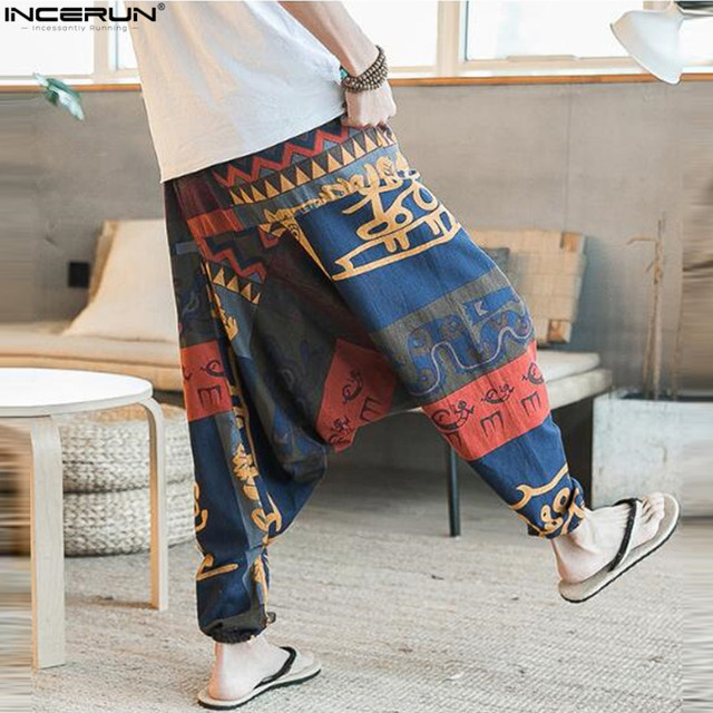 Cotton Baggy Harem Pants 2