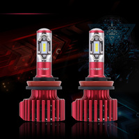 2X NOVSIGHT Car Lights H11 LED H7 H4 H1 LED Headlight Bulb 6500K 16000LM Styling 9005 9006 Auto Lights 12V