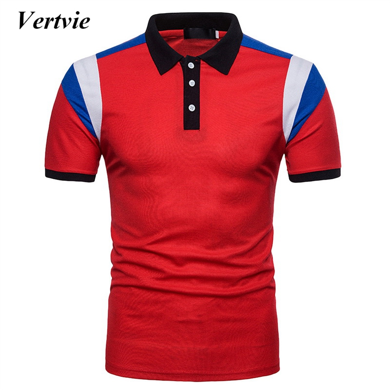 Vertvie Brand Sports Mans Polo Shirt Golf Trainning Exercise Mens Polo Shirts Golf Sports Polos Male Breathable golf Tops
