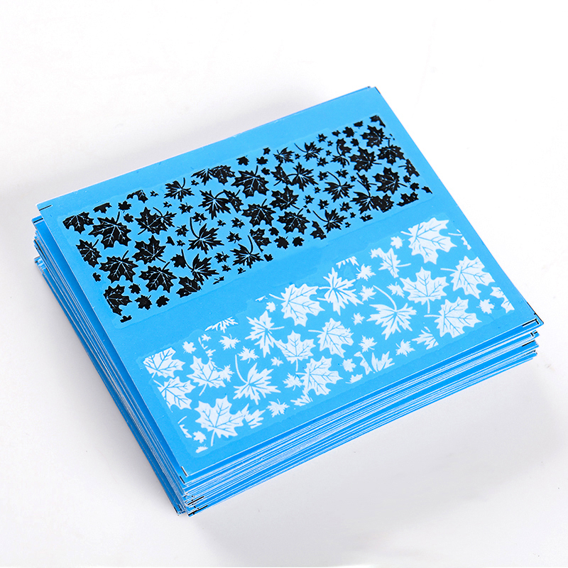 T TIAO CLUB 48pcs lot Nail Sticker White Black Water Decal Sexy Lace Flower Nail Art Decorations DIY 3D Nail Art Tips in Stickers Decals from Beauty Health