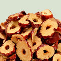 500g Xinjiang Dried Red Dates Slices Chinese Red Jujube Dried Fruitl Beauty Enrich Blood good partner with chicken for soup
