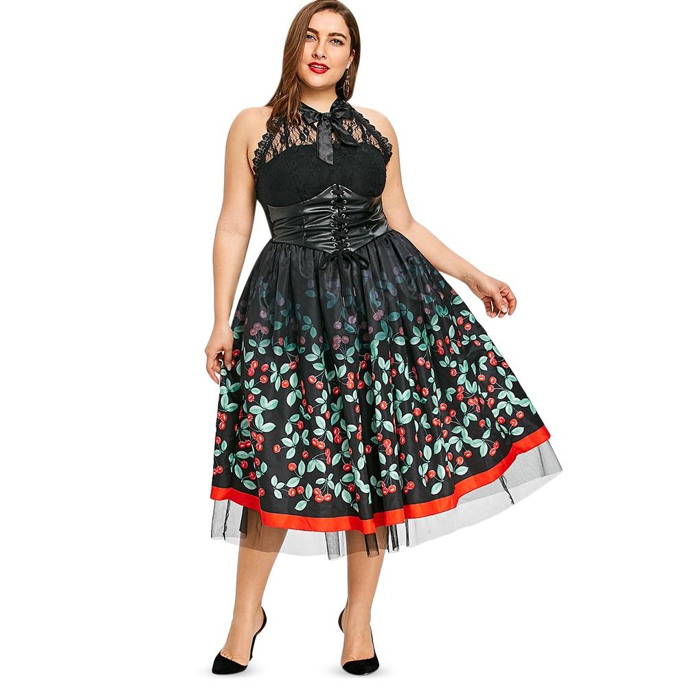 Plus Size Medieval Dresses: Aliexpress.com : Buy Kenancy Cherry Print Women Summer