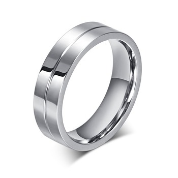 Elegant Solid Silver Couple Ring Jewelry Rings Women Jewelry Ring Size: 11 Main Stone Color: 1 piece for men