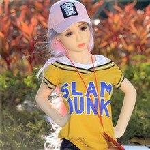 Poupées de sexe 125cm #2 complet TPE avec squelette adulte japonais amour poupée vagin réaliste chatte réaliste Sexy poupée pour hommes