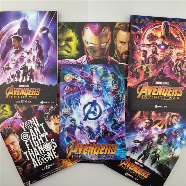 US $6 07 24% OFF|The Avengers Notebook Infinity War Heros Ironman Spiderman  Diary Memo Pad Daily Weekly Planner Notes Stationery School Supplies-in
