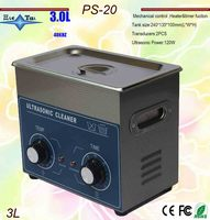 free shipping Local Russia warhouse PS 20 AC110/220v 120W heater&timer Ultrasonic cleaner 3L 40KHZ parts machine