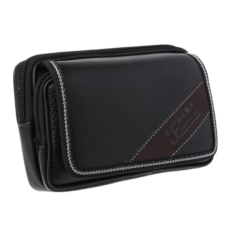 TINKTHENDO Universal Waist Bag Pouch Belt Card Holder Pocket Men Wallet Phone Case Cover