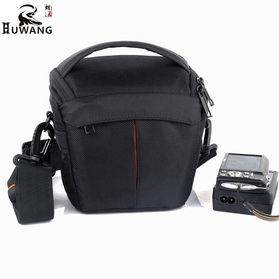 HUWANG 2018 New Thicken Camera Bag Case For Sony alpha RX100 A5000 A6300 A5100 A6000 A6500 NEX5 Canon Camera Nikon Case Foto Bag