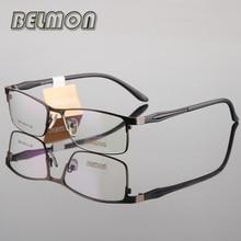 Belmon, оправа для очков, для мужчин, ботаник, компьютер, оптический, по рецепту, прозрачные линзы, очки, оправа для очков, для мужчин, очки RS193